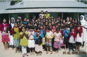 Students and Sisters in Agartala, India now have clean drinking water thanks to MCA Members in the US