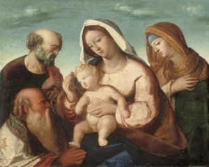 Holy Family by Giovanni Bellini Traditional