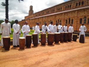 Major Seminary Playing Music in Butare, Rwanda