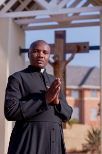 Napo, a Seminarian studying at St. John Vianney in Pretoria, South Africa.
