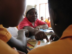 Sister Teresa at the Hope Center in Cameroon