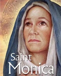 St. Monica w Title