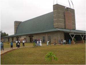 Catholic Church in Lusaka, Zambia