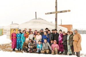 This year, your generosity on World Mission Sunday will touch parish communities across the world, like this  in Mongolia