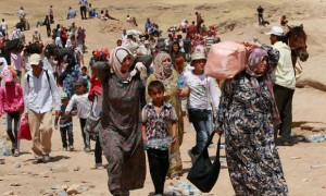 Syrian Refugees Leaving Country