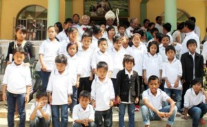 Children at St. Joseph's Home in Nagaland supported by donations to the Missionary Childhood Association