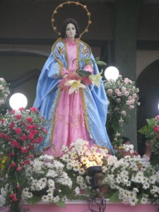 Mary in May procession-Diocese of Boac, Mogpog